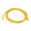egyéb Rj45 cat5e utp m/m sárga kábel 3m