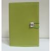 egyéb Swarovski kristályos bőr notesz, zöld