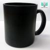 Egyedi bögre, opál fekete üveg, színváltós -Magic Cup-