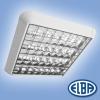 Elba Szabadon sugárzó mennyezeti lámpa FIRA 03 4x58W IP40 dupla parabolatükrös Elba