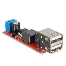 ELDOER DC-DC Konverter 12V-5V USB PCB gps kellék