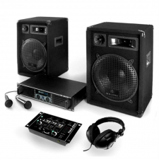 Electronic-Star Bass Boomer USB, PA rendszer, 400 W, erősítő, hangfal, kábel erősítő