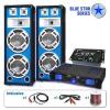 Electronic-Star Blue Star Series Basskern hangosító szett USB, 2800 W