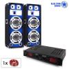 Electronic-Star Blue Star Series Basssound Bluetooth, hangfalszettv