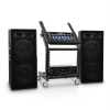 Electronic-Star DJ PA Set Anlage Rack Star Series Mars Flash Bluetooth