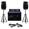 Electronic-Star DJ PA szett Punch Line 1200 W, keveropult, USB, SD portok