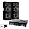 Electronic-Star Saphir Series Warm Up Party TX215 hangfalszett