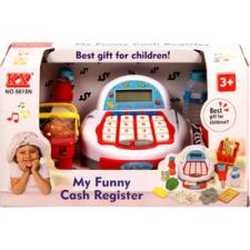Elemes pénztárgép - piros-fehér vásárlás