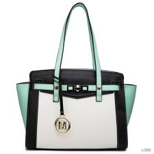 Elle Miss Lulu London LG1640 - Miss Lulu ellentét Winged válltáska kézi táska zöld kézitáska és bőrönd