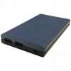 Eloop EW31 10000mAh vezeték nélküli 5W kék / barna