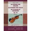 EMB 60 gyakorlat hegedűre Op. 45