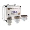 EMIKOO TLS lyukfúró készlet 20-40-65 mm fehér - alumínium koffer