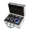 EMIKOO TLS lyukfúró készlet 6-12-14-16-25-35-45 mm - alumínium koffer