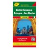 Emilia-Romagna · Bologna · San Marino térkép / TOP 10 Tipp / freytag & berndt