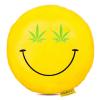 Emoji, Smiley párna Cannabis