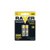 Emos 2 db tölthető elem AA RAVER NiMH/1,2V/600 mAh