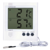 Emos digitális hőmérő vezetékes szondával és páratartalom mérővel RS8471