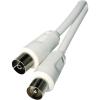 Emos IEC (koax) kábel IEC - IEC 2,5m