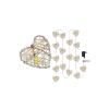 Emos LED Karácsonyi lánc HEART LED/1W/230V