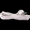 Emos S14325 FLEXO 3X1,5 H05VV-F 5m fehér szerelt kábel