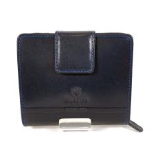 Emporio Valentini Valentini álló fazonú kék női bőr pénztárca 563182