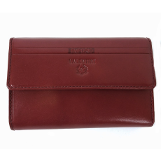 Emporio Valentini Valentini barna, szögletes fedelű,közepes női bőr pénztárca 563121