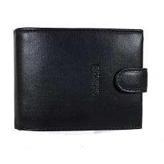 Emporio Valentini Valentini fekete férfi patentos bőr pénztárca 306260