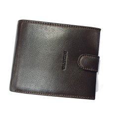 Emporio Valentini Valentini patentos puha bőr pénztárca-sötétbarna 306-298