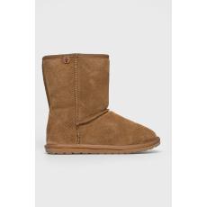 EMU Australia - Magasszárú cipő Wallaby Lo Teens - sötét barna - 1395822-sötét barna