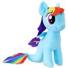 Én kicsi pónim: Rainbow Dash sellő plüssfigura - 25 cm