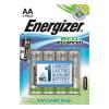 """ENERGIZER Elem, AA, E91, ceruza, 4 db, alkáli, ENERGIZER """"EcoAdvanced"""""""