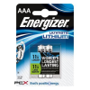 "ENERGIZER Elem, AAA mikro, 2 db, Lítium, ENERGIZER ""Ultimate Lithium"""