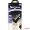 ENERGIZER micro USB autós töltő,2xUSB,3.4A,Fekete