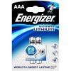 ENERGIZER Ultimate Lithium AAA / 2