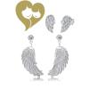 Engelsrufer EREWS - Engelsrufer fülbevaló + EWINGZI - Herzengel fülbevaló