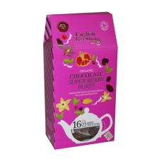 English Tea Shop Csokoládés Szuperbogyos tea Selyemfilterben tea