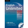 English Unlimited Advanced Self-study Pack (Workbook with DVD-ROM) – Ben Goldstein