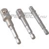 """Epextech - Csavarbehajtó adapter készlet 1/4"""" 3/8"""" 1/2"""", 3db-os"""