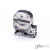 Epson LC-5TWN utángyártott feliratozószalag kazetta 18 mm * 8m átlátszó alapon fehér nyomtatás