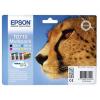 Epson T07154010 Tintapatron multipack Stylus D78, D92, D120 nyomtatókhoz, EPSON b+c+m+y, 23,9ml