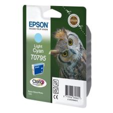 Epson T0795 világos cyan kék eredeti patron nyomtatópatron & toner