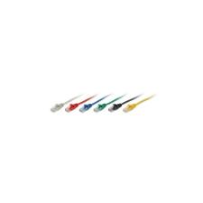 Equip 825425 UTP CAT5e Patch kábel 7,5m - piros kábel és adapter