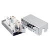 Equip csatlakozó doboz  cat.6e LAN kábel  árnyékolt