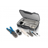 Equip professional network tool case w. network tools