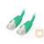 Equip U/UTP Cat6 patch kábel 0.5m zöld