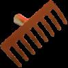 Erősített lemez gereblye 8 fogú (10395)
