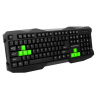 Esperanza ROOK WIRED USB GAMING KEYBOARD GREEN (EGK101B)