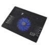 Esperanza Solano Notebook hűtőpad 1ventilátorral fekete EA142