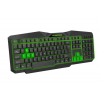 Esperanza TIRIONS WIRED USB GAMING ILLUMINATED KEYBOARD GREEN (EGK201G)