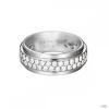Esprit Női gyűrű ezüst cirkónia Modern alak Glam ESRG92374A1 53 (16.8 mm Ă?)